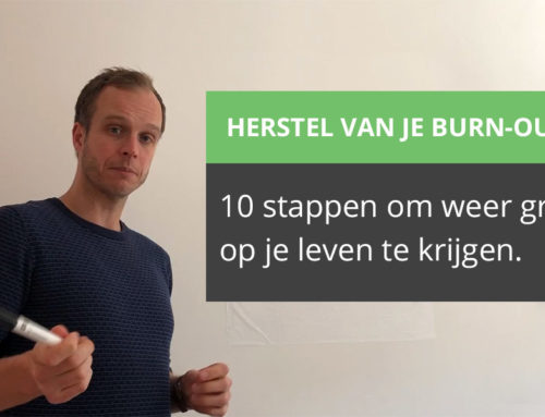 Start herstel burn-out in 10 stappen